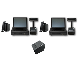 Two Station Quick Serve POS System