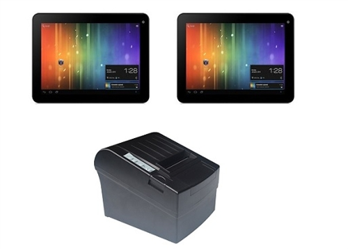 Two Tablet POS System
